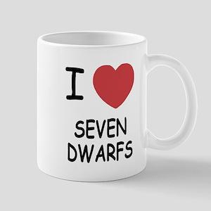 I heart seven dwarfs Mug