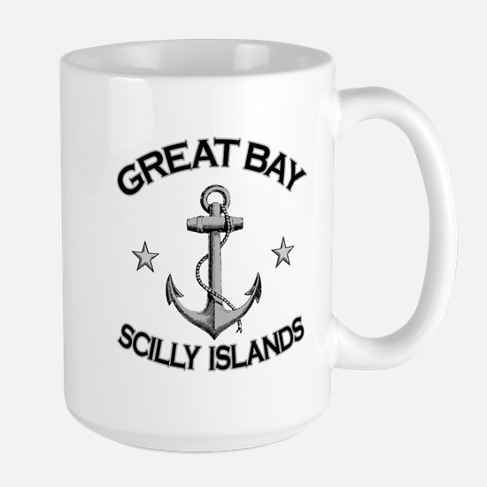 Great Bay, Scilly Islands Large Mug