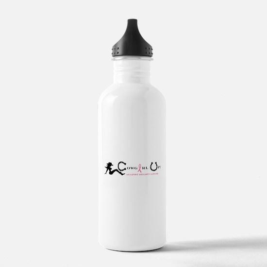 Cute Cowgirl Water Bottle