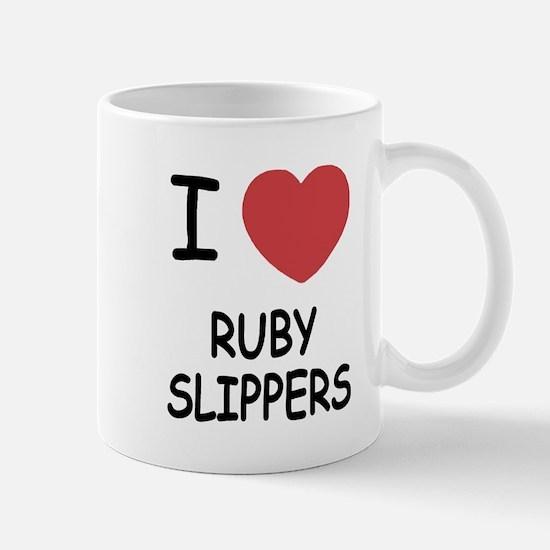 I heart ruby slippers Mug