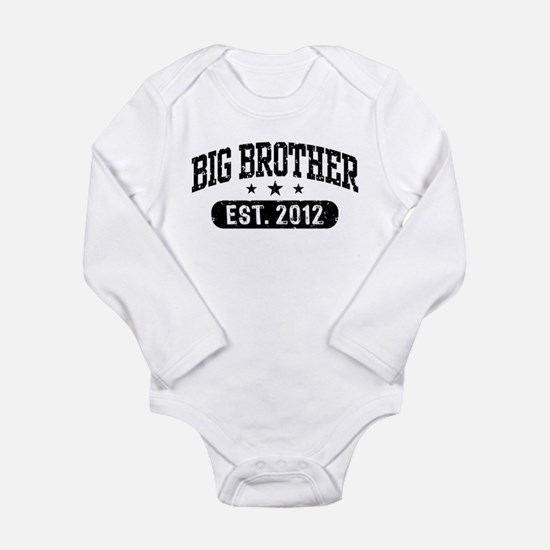 Big Brother 2012 Long Sleeve Infant Bodysuit