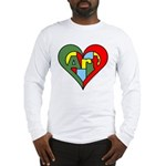 Art Heart Long Sleeve T-Shirt