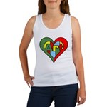 Art Heart Women's Tank Top