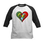 Art Heart Kids Baseball Jersey