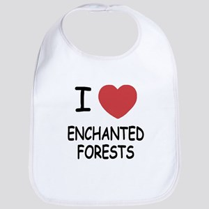 I heart enchanted forests Bib
