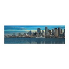 Seattle Washington Panorama Wall Decal