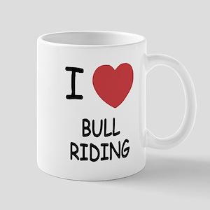 I heart bull riding Mug