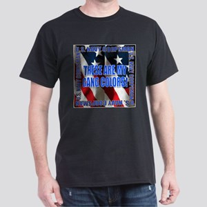 Navy Corpsman Gang Colors Black T-Shirt