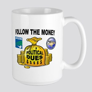 GREEDY UNIONS Large Mug