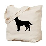 Labrador Retriever Silhouette Tote Bag