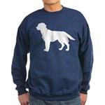 Labrador Retriever Silhouette Sweatshirt (dark)