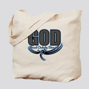 good orderly direction (GOD) Tote Bag