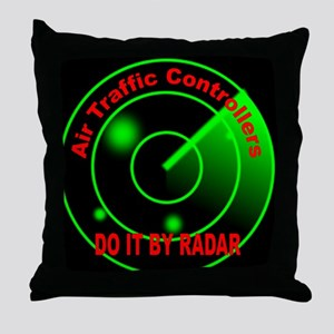 Air Traffic Controllers Do It Throw Pillow