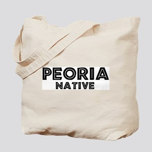Peoria Native Tote Bag