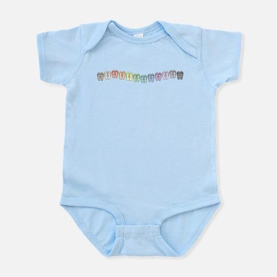 Rainbow Wave Infant Bodysuit