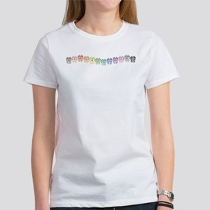 Rainbow Wave Women's T-Shirt