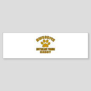 Awesome Australian Terrier Daddy Sticker (Bumper)