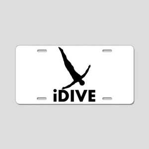 iDive Diving Aluminum License Plate