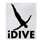 iDive Diving Throw Blanket