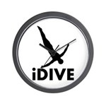 iDive Diving Wall Clock