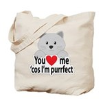 Purrfect Katz Tote Bag