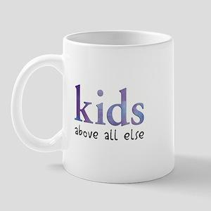 Kids Above All Else Mug