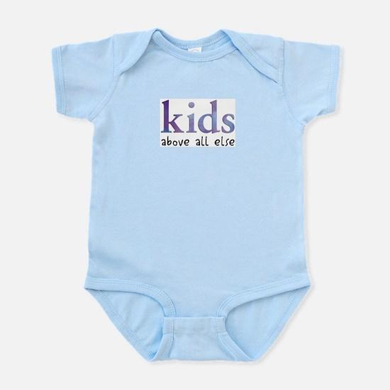 Kids Above All Else Infant Creeper