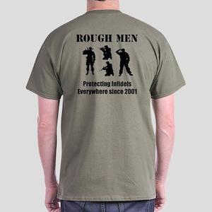 Protecting Infidels Everywhere Dark T-Shirt