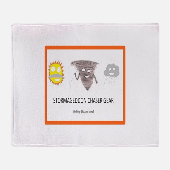Stormageddon Throw Blanket