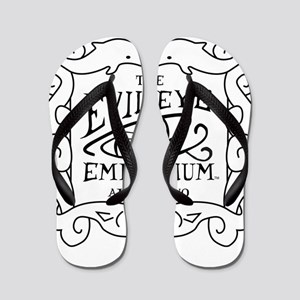 Evil Eye Emporium Sign Flip Flops