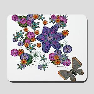 Summer Floral Mousepad