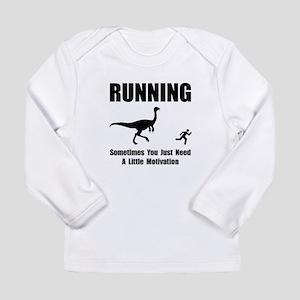 Running Motivation Long Sleeve Infant T-Shirt