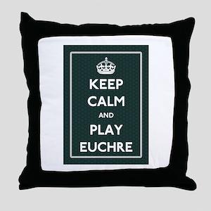 Euchre Throw Pillow