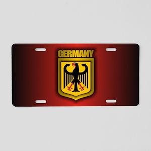 German Steel Aluminum License Plate