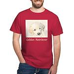 Golden Retriever Puppy Dark T-Shirt
