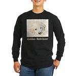 Golden Retriever Puppy Long Sleeve Dark T-Shirt