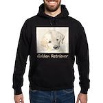 Golden Retriever Puppy Hoodie (dark)