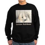 Golden Retriever Puppy Sweatshirt (dark)