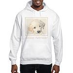 Golden Retriever Puppy Hooded Sweatshirt