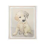 Golden Retriever Puppy Throw Blanket