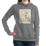 Golden Retriever Puppy Women's Hooded Sweatshirt