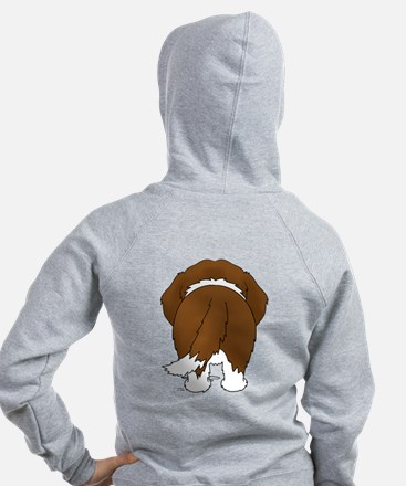 Big Nose St. Bernard Zip Hoody