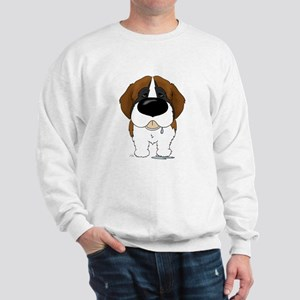 Big Nose St. Bernard Sweatshirt