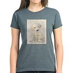 Golden Retriever Puppy Women's Dark T-Shirt