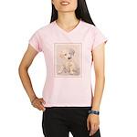 Golden Retriever Puppy Performance Dry T-Shirt