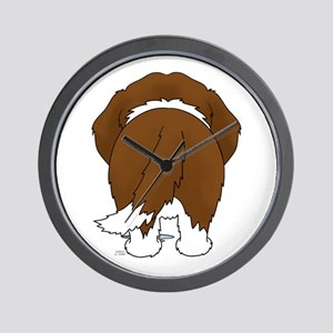 Big Butt St. Bernard Wall Clock