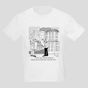 Coffee Stain, Not Roof Design Kids Light T-Shirt