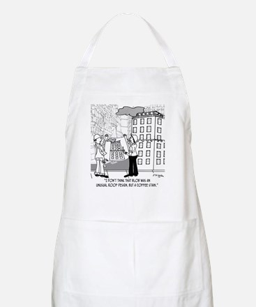 Coffee Stain, Not Roof Design Apron