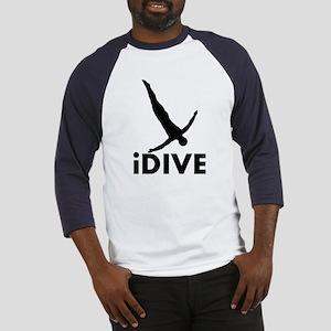 iDive Diving Baseball Jersey