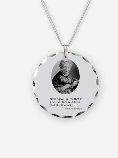 Harriet Beecher Stowe Necklace